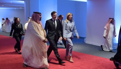 ولي العهد السعودي يلتقي كوشنر لبحث السلام في الشرق الأوسط