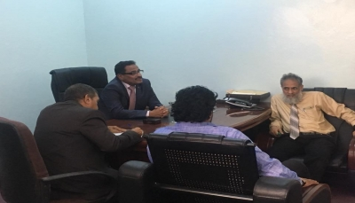 وزير النقل يدشن العمل في مبنى الوزارة الجديد بالعاصمة المؤقتة عدن