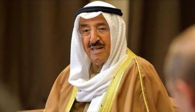 أمير الكويت يبدي استعداد بلاده لدعم العراق لتجاوز ما يمر به من أحداث