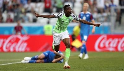 نيجيريا تعزز حظوظ الأفارقة في مونديال روسيا