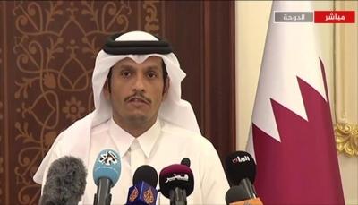 قطر: لن ندعم أبدا إيران أو أي طرف آخر في خراب اليمن