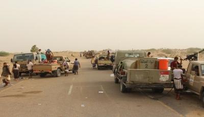 """الجيش يحاصر عشرات القناصة الحوثيين في مدينتي """"الصالح والعيسي"""" بالحديدة"""
