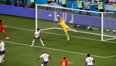 بلجيكا تهزم إنجلترا وتتصدر المجموعة السابعة