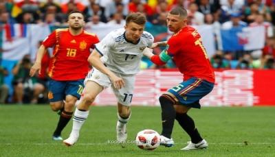 لعنة صاحب الأرض تصعق إسبانيا وتصعد بروسيا لربع النهائي