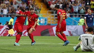بلجيكا تنجو بصعوبة من مغادرة المونديال أمام اليابان