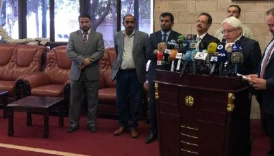 """""""غريفيث"""" يطلع مجلس الأمن غدا نتائج مباحثاته ويصف لقائه مع زعيم الحوثيين بـ""""المثمر"""""""