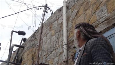 الأسلاك الكهربائية تهدد اليمنيين