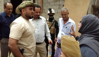 اللجنة الوطنية للتحقيق في انتهاكات حقوق الإنسان تزور مقر مكافحة الإرهاب بعدن