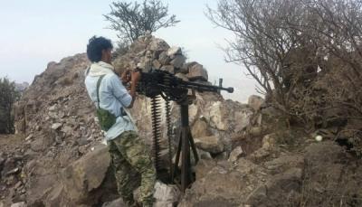 الجيش الوطني يصد هجوما لمليشيا الحوثي غربي تعز