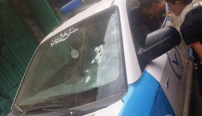 """مسلحون يهاجمون قسم شرطة في """"إب"""" وأنباء عن إصابة مدنيين"""
