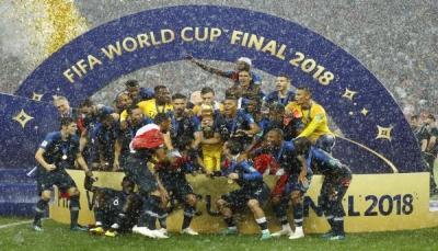 فرنسا بطل العالم للمرة الثانية في تأريخها بعد غياب 20 عامًا