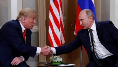 """ترامب: إقامة علاقات ودية مع روسيا أمر محمود وبوتين يقول """"حان الوقت لنتحدث عن علاقتنا"""""""