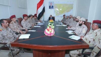 نائب الرئيس: المؤسسة العسكرية أمل اليمنيين في استعادة الدولة وبناء اليمن الإتحادي