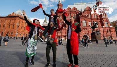 مشجعو كأس العالم أنفقوا 1.5 مليار دولار في روسيا