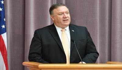 """""""بومبيو"""" يطلع زعماء العراق على المخاوف الأمنية الأمريكية من إيران"""