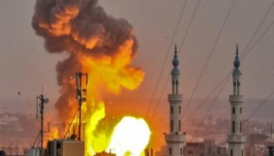 """الاحتلال الإسرائيلي يعلن بدء """"غارة واسعة"""" ضد أهداف تابعة لحماس في غزة"""