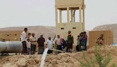 """""""بتر ومسيلة"""" تموّل بئر للمياه بالطاقة الشمسية بـ""""تمران"""" بوادي حضرموت"""