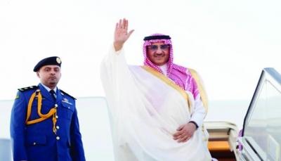 شاهد ظهور مثير للأمير محمد بن نايف في مجلس عزاء بالسعودية (فيديو)