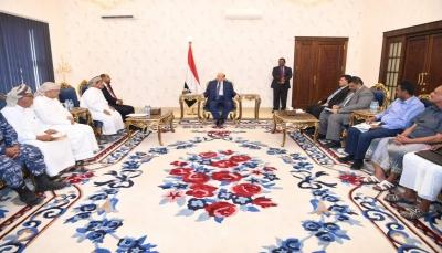 """إهتمام رئاسي لافت بـ""""المهرة"""" عقب التوتر بين قبائل المحافظة والقوات السعودية"""
