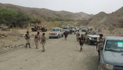 """البيضاء: الحيش يسيطر على 13 موقع عسكري للحوثيين في عملية واسعة بمديرية """"الملاجم"""""""