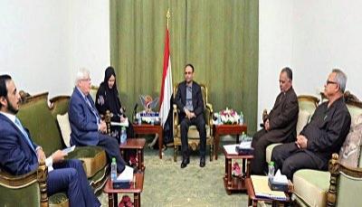 صنعاء: غريفيث يلتقي زعيم المليشيات وقيادات أخرى لبحث استئناف المفاوضات