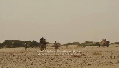 """حجة: قوات الجيش تهاجم مواقع مليشيا الحوثي بـ """"حيران"""""""