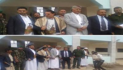 """الحوثيون يختتمون دورات طائفية لوكلاء """"إب"""" ومدراء عموم مكاتبها في """"صنعاء"""" (صور)"""