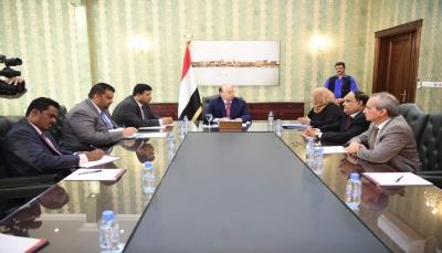 الرئيس هادي يؤكد على أهمية تفعيل الأجهزة الرقابية لحماية الأموال والممتلكات العامة