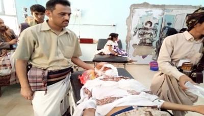"""البيضاء: إصابة مدير وكالة سبأ بالمحافظة واستشهاد مرافقه في قصف للحوثيين بـ""""قانية"""""""