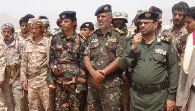 وزارة الداخلية تدشن المنطقة الأمنية بمديريات بيحان بشبوة