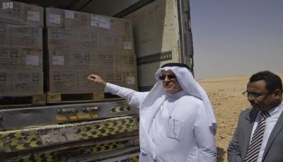 تحمل 209 طن.. قافلة سعودية لتأمين احتياجات مراكز الغسيل الكلوي في اليمن
