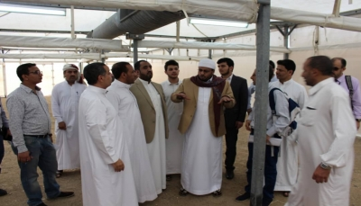 وزير الأوقاف يطلع على مخيمات الحجاج اليمنيين في المشاعر المقدسة