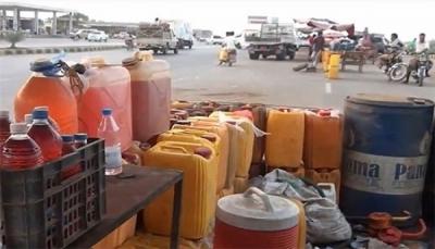 أزمة خانقة في المشتقات النفطية بصنعاء