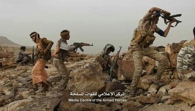 """صعدة: قوات الجيش تحرر مواقع جديدة في """"الملاحيظ"""" وقتلى من المليشيات في البقع"""