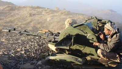 """الجيش يحرر مواقع جديدة بصعدة.. وقائد عسكري يقول """"المعارك تدور في قلب الملاحيظ"""""""