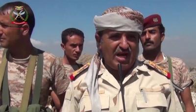 """قائد عسكري لـ""""يمن شباب"""": ما يحدث في تعز هو تمرد على الشرعية والرئيس وجّه بـ """"الحسم"""""""