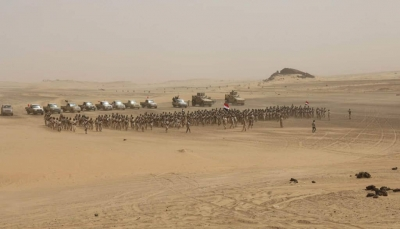 تخرج دفعة جديدة من ضباط الجيش الوطني بمعسكر النصر بمأرب