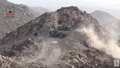 """البيضاء: قوات الجيش تتقدم في مديرية الملاجم بمساحة تقدر بـ""""60كم""""  (فيديو)"""