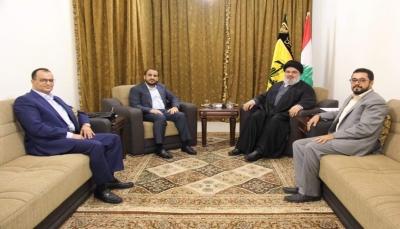 الحكومة: لقاء الحوثيين مع زعيم حزب الله دليل على دوره المزعزع لليمن والداعم للحوثيين