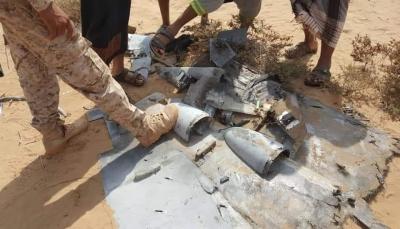 """حجة: الجيش الوطني يسقط طائرة مسيرة تابعة للمليشيات في """"حيران"""""""