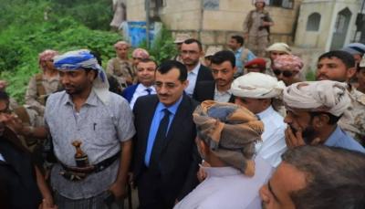 رئيس الأركان يزور منفذ صرفيت الحدودي مع سلطنة عمان
