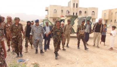 """شبوة: القوات المشتركة تقوم بحملة استعادة المباني الحكومية بمدينة """"عتق"""""""