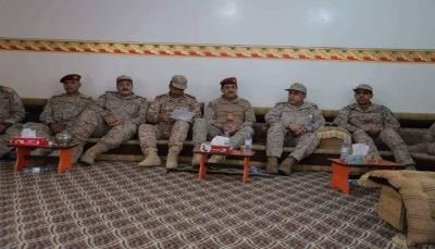 اللواء العقيلي يناقش مع رئيس أركان القوات المشتركة آليات التنسيق وسبل تعزيزها