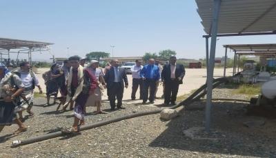 وزارة النفط توجه بإعادة تأهيل منشأة سد الجبلين في محافظة تعز