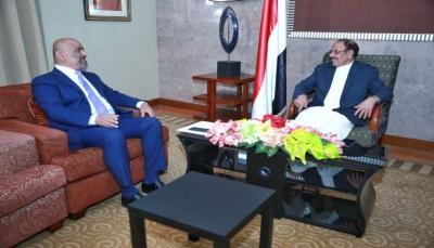 نائب الرئيس يناقش مع وزير الخارجية الترتيبات الخاصة بمشاورات جنيف