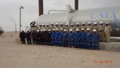 """شركة """"كالفالي"""" الكندية لإنتاج النفط بحضرموت تتنصل من التزاماتها تجاه موظفيها اليمنيين وتهدد بفصلهم"""