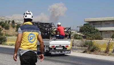 سوريا: استمرار قصف روسيا والنظام السوري لمحافظتي إدلب وحماة