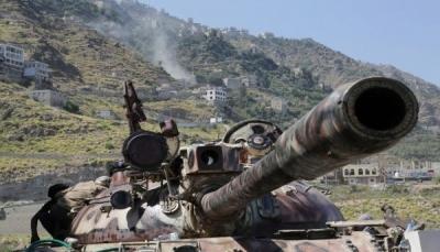 """تعز: قوات الجيش تحبط تسلل ميلشيات الحوثي إلى مواقعها في """"جبهة حيفان"""""""