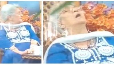 شاهد - وفاة بروفيسورة هندية خلال حديثها في برنامج تلفزيوني عن كيف تفضل موتها