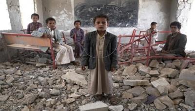 يونيسف: 3.7 ملايين طفل يمني قد يتضررون من عدم تسليم مرتبات المعلمين